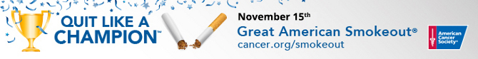 ACS Great American Smokeout 2015